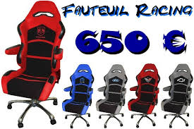 fauteuil baquet bureau garage spécialiste voitures americaines sportives 4x4