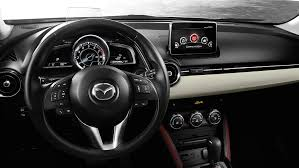 where does mazda come from does the 2017 mazda cx 3 come with a navigation system