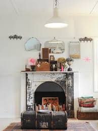 Shabby Chic Fireplace by 171 Best Fireplaces Mantels Images On Pinterest Fireplace