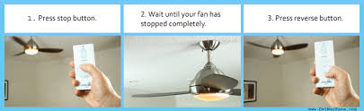 how to change a ceiling fan how to change ceiling fan direction with remote www