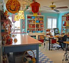 Craft Room Office - inspire bohemia home offices u0026 craft rooms part i