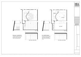 Yoga Studio Floor Plan by Hheal Lab