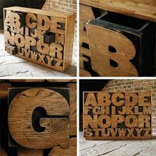 lifestyle cafe alphabet letters for unusual home decor