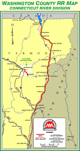 connecticut on map county railroad connecticut river division map