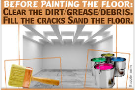 Concrete Floor Sweeping Compound by It U0027s Raining Colors 10 Steps On How To Paint A Concrete Floor
