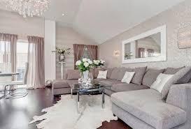 canap deco deco salon blanc et bois d c3 a9co gris canap a9 design tapis peau b