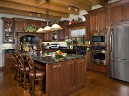 Log Home Kitchen Cabinets - kitchen cabinet ideas for log homes 2017 kitchen design ideas