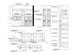 yrenec interior design construction drawings and millwork details