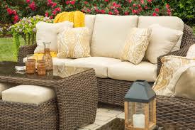 Deep Seating Wicker Patio Furniture - woven wicker u0026 rattan furniture down to earth living