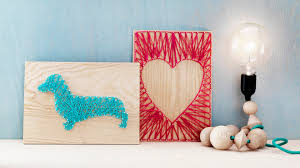 diy by panduro home deco by me string art youtube