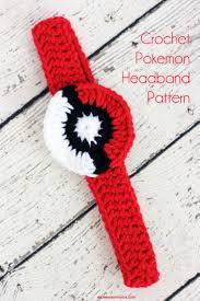 crochet pokemon headband pattern girls patterns and crochet
