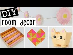 Room Decor Diys Diy Room Decor 2016 Four Easy U0026 Inexpensive Ideas Youtube
