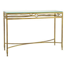 Iron Console Table Handmade Iron Console Tables Ironwork Consoles Glass Topped