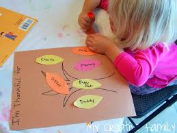 thanksgiving family activity ideas thankful trees creative family fun