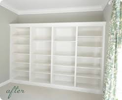 Cost Of Built In Bookcases Remodelaholic Home Sweet Home On A Budget Built Ins