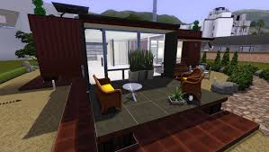 mod the sims project one container house