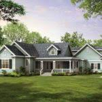 modern one story farmhouse plans house architecture plans 75176