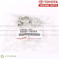 lexus trd singapore genuine lexus toyota scion negative battery terminal oem 90982