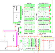 Department Store Floor Plan Layout Design Warehouse Peter Aar E Nissen Project Manager Focus