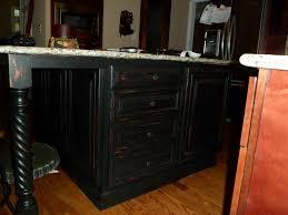 wonderful black wooden color distressed kitchen island features fabulous rectangle shape furniture unique black distressed kitchen islands