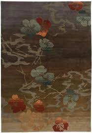 Japanese Area Rug Tibetan Wool Area Rug Kimono Gold A Rug For All Reasons