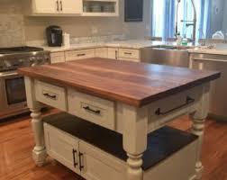 kitchen island wood kitchen island etsy