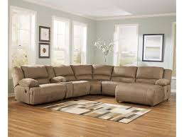 Motion Sectional Sofa Signature Design By Mocha 6 Motion Sectional
