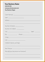 Estate Client Information Sheet Template 10 Business Client Information Sheet Template Plantemplate Info