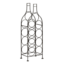 9 opening bottle shaped wine rack christmas tree shops andthat