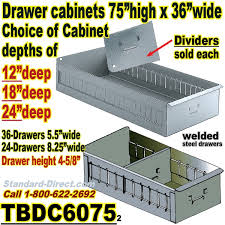 Parts Cabinets 60 Drawer Industrial Parts Cabinets Tbdc6075