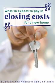 closing costs for a new home
