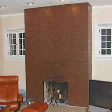 Brick Texture Paint - painted fireplace makeover