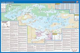 Show Me A Map Of Lake Vermilion Fishing Map Show Me A Map Of The World