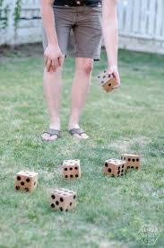 diy yard games i love this i u0027ve seen jenga but it u0027s so much fun