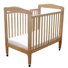 Baby Crib Side Bed La Baby Compact Non Folding Wooden Window Crib