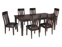 signature design by ashley haddigan 7 piece rectangular dining