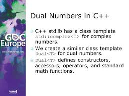 dual numbers simple math easy c coding and lots of tricks