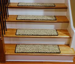 stair treads leopard 30