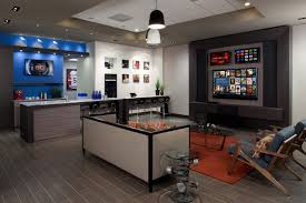 Houzz Media Room - multiple tv media room houzz