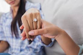 ring engaged it wasn t until i got engaged finally started treating me