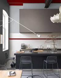 cuisine blanche mur taupe couleur mur cuisine blanche mineral bio