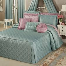 bedding blue quilted bedspread oversized king quilts 120x120