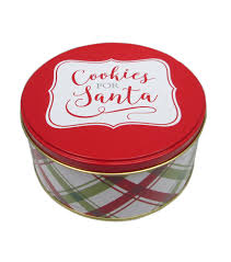 maker s small cookie tin cookies for santa joann