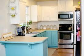Blue Painted Kitchen Cabinets 100 Painting Kitchen Cabinets With Chalk Paint Kitchen