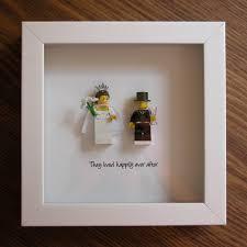 Picture Frame Centerpieces by Wedding Centerpiece Lego Art Frame Bride U0026 Groom Lego