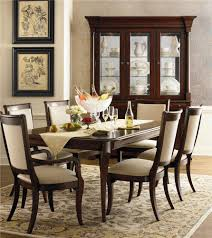 Louis Philippe Dining Room Bassett Louis Philippe Rectangular Leg Table Chair Set Ahfa