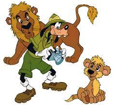 goofy safari clipart