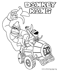 unique donkey kong coloring pages 55 on gallery coloring ideas
