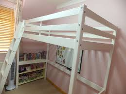 bedding argos high riser sleeper loft single bed white wood with