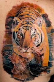 hd tiger and panther tattoos design idea for and